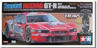 TB-02 シャシー 1/10RC ザナヴィ ニスモ GT-R(R34)