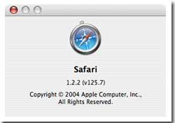 Safari 1.2 (v125.1)