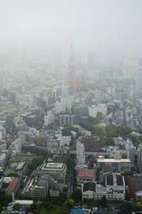 東京シティビューからの朝